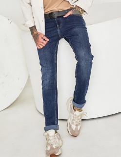 Чоловічі джинси сині 1201