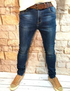 Мужские джинсы подуженные по ноге A00202