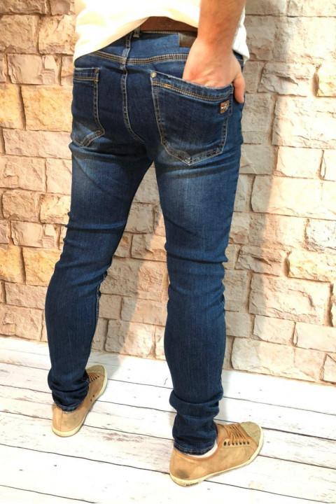 фото  1  Мужские джинсы подуженные по ноге A00202 - JEANS 24   1