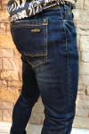 фото  2  Чоловічі джинси з легкими потертостями завужені A00206 - JEANS 24