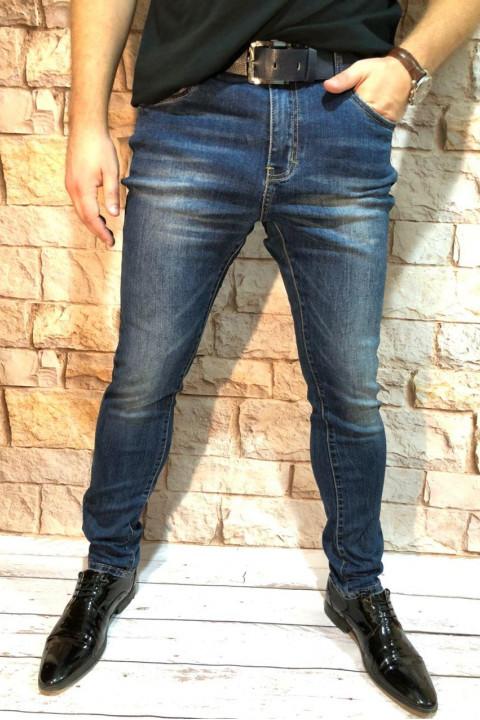 Чоловічі джинси молодіжні A00207 фото