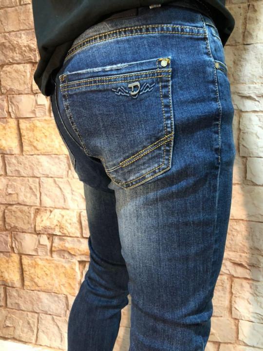 фото  1  Чоловічі джинси молодіжні A00207 - JEANS 24