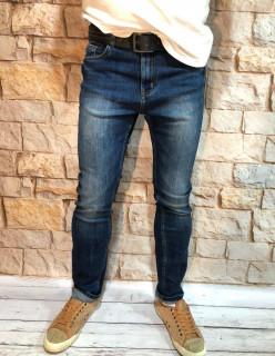 Мужские джинсы зауженные по ноге A00208