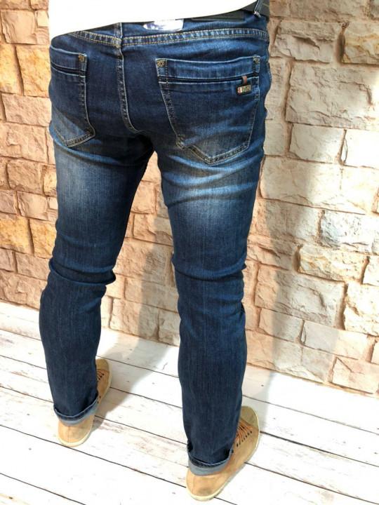 фото  1  Мужские джинсы зауженные по ноге A00208 - JEANS 24   1