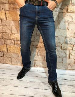 Чоловічі джинси завужені A0217