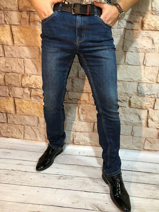 Мужские джинсы зауженные A0217 | JEANS 24