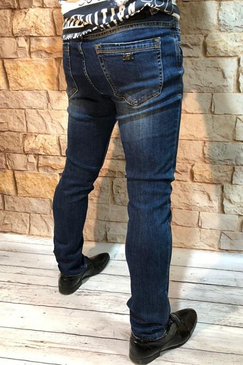 Мужские джинсы зауженные A0217 фото   JEANS 24