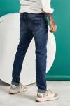 Джинси чоловічі синього кольору 1210 фото
