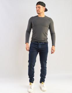 Чоловічі джинси темно-сині Slim fit 702