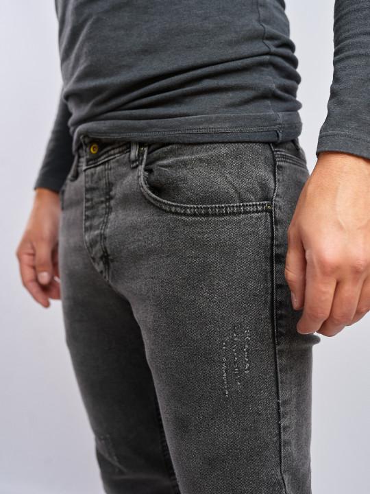 фото Мужские джинсы серые Slim fit 435 в JEANS24