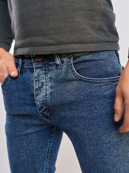 фото Мужские джинсы синие слим фит 350 в JEANS24