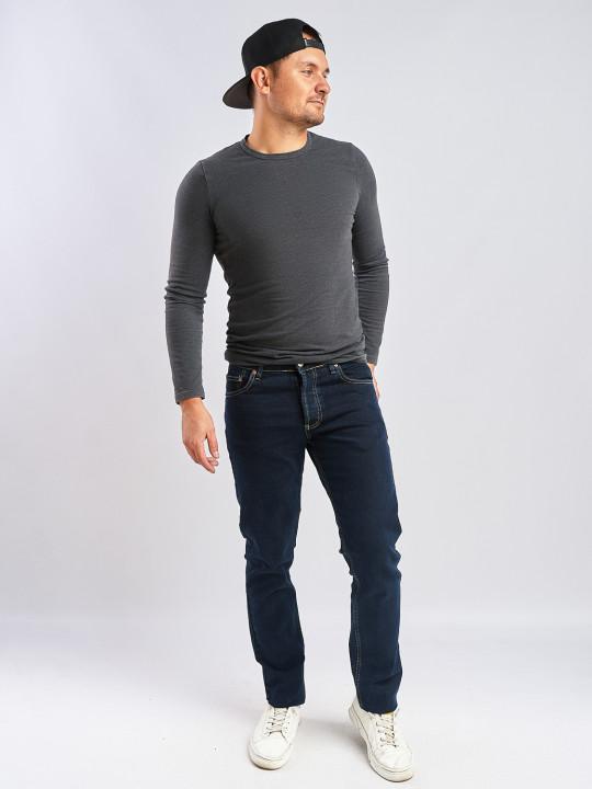 Чоловічі джинси без потертостей 530 фото