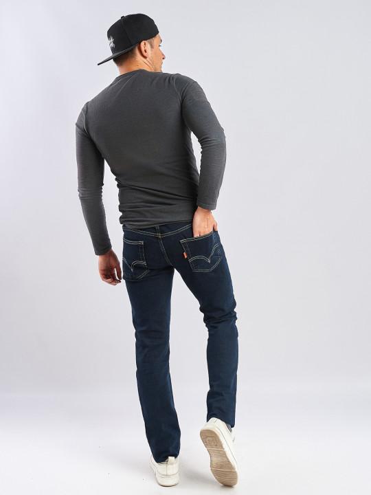 фото  2  Чоловічі джинси без потертостей 530 - JEANS24