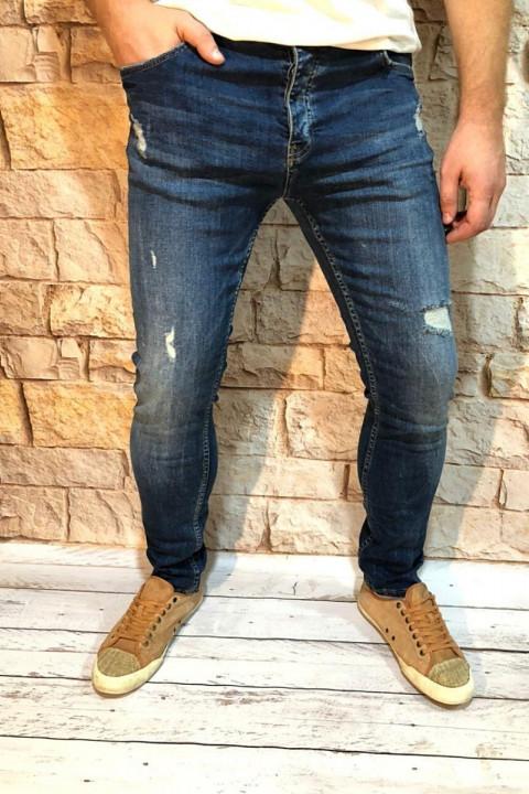 Мужские джинсы подуженные  фото