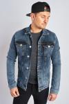 фото  1  Джинсовая куртка винтажная с добавлением стрейча - JEANS24   1