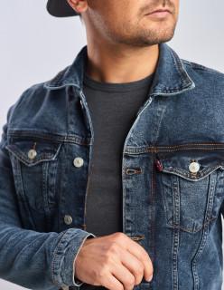 Джинсова куртка вінтажна з додаванням стрейча