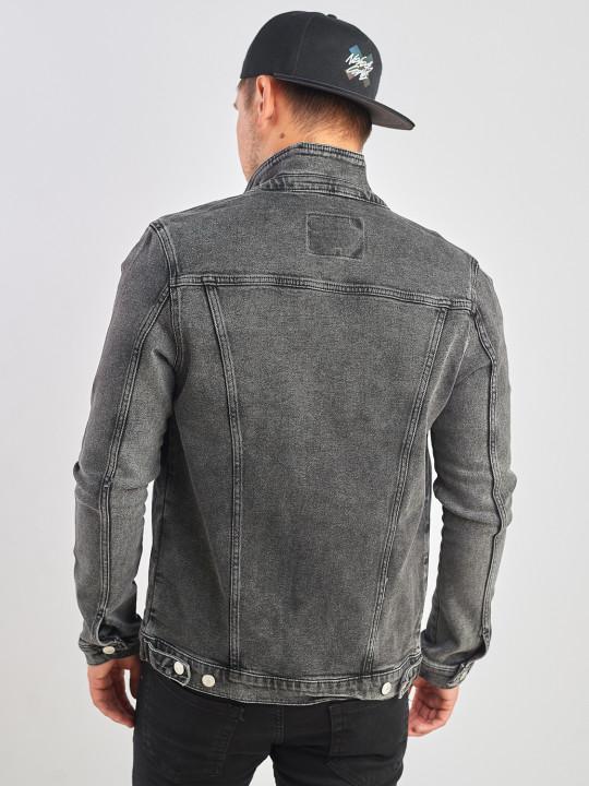 фото  1  Джинсовая куртка винтажная  серого цвета - JEANS24   1