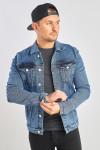 Джинсовая куртка винтажная  фото