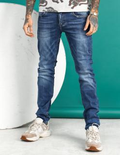 Чоловічі джинси молодіжні сині 1022