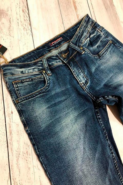 фото  2  Мужские джинсы молодежные L00022 - JEANS 24   2