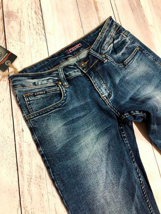 фото  2  Мужские джинсы молодежные L00022 - JEANS24   2