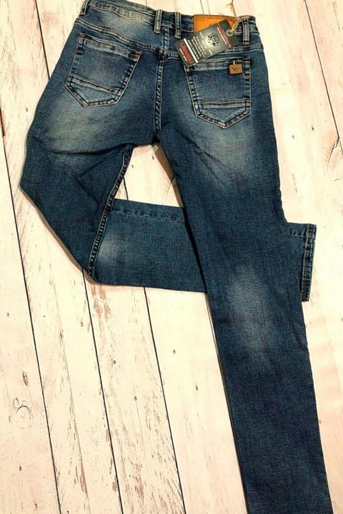 фото  1  Мужские джинсы молодежные L00022 - JEANS 24   1