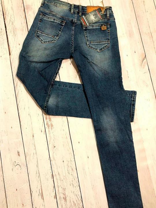 фото  1  Мужские джинсы молодежные L00022 - JEANS24   1