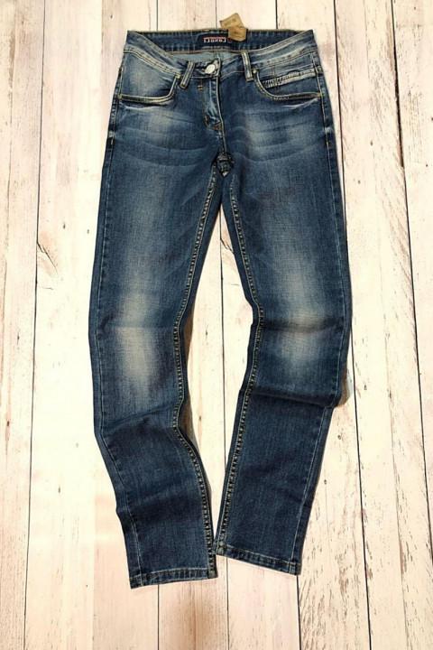 Чоловічі джинси молодіжні L00032 фото