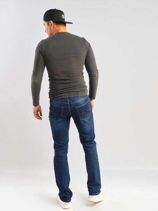 фото  2  Мужские джинсы синие Regular 045 - JEANS24   2