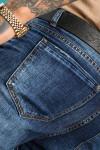 Мужские джинсы синие Regular fit 12001 - JEANS 24 купить