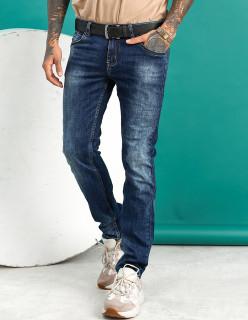 Чоловічі джинси сині Regular fit 12001
