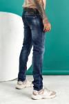 JEANS 24 - Мужские джинсы синие Regular fit 12001