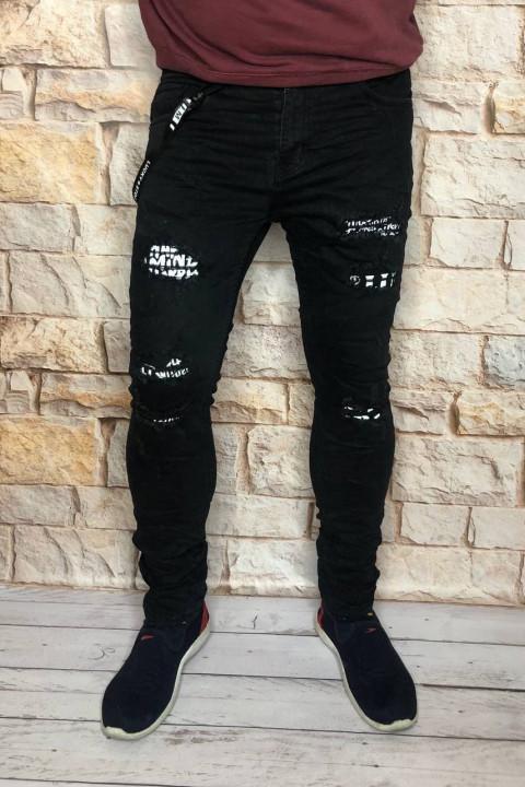 Мужские джинсы молодежные 013 фото