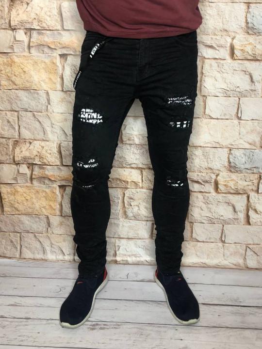 Чоловічі джинси молодіжні 013 фото