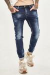 JEANS 24  - Чоловічі джинси потерті 1047