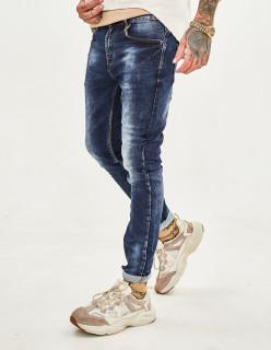 Чоловічі джинси потерті 1047