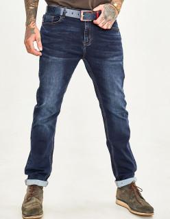 Чоловічі джинси темно-сині 1048