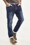 JEANS 24 - Мужские джинсы темно-синие 1048