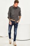 фото Чоловічі джинси потерті Skinny Fit 1009 в JEANS24