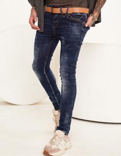 Чоловічі джинси потерті Skinny Fit 1009
