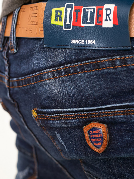 фото  1  Чоловічі джинси потерті Skinny Fit 1009 - JEANS24