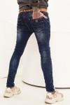 Чоловічі джинси потерті Skinny Fit 1009 | JEANS24