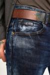 Чоловічі джинси потерті Slim Fit 1010 - JEANS 24  купити