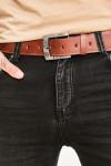 Мужские джинсы темный графит 1020 в JEANS24 фото 3