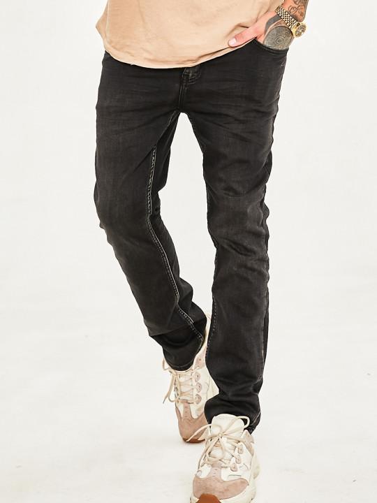 Чоловічі джинси темний графіт 1020 фото