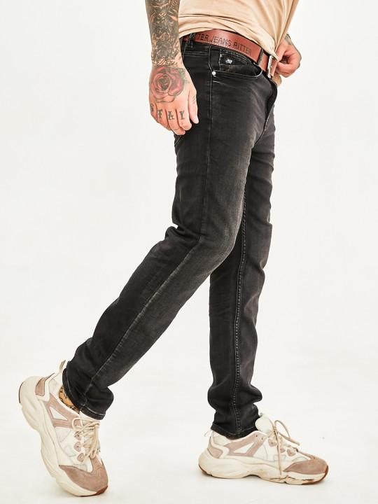 фото Чоловічі джинси темний графіт 1020 в JEANS 24