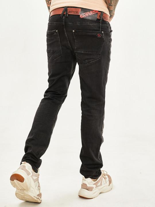 Чоловічі джинси темний графіт 1020 в JEANS 24 купити