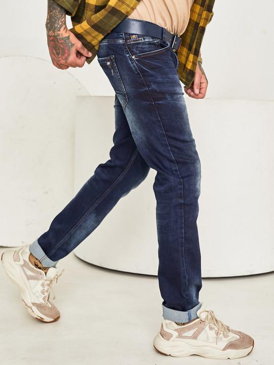 фото Чоловічі джинси темно-сині 1046 в JEANS 24