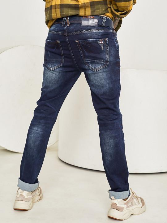 Чоловічі джинси темно-сині 1046 выбрати