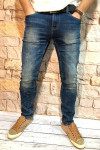 Мужские джинсы синие с теркой 2048 | JEANS 24